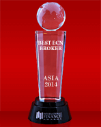 International Finance Magazine 2014 - Cel mai Bun Broker ECN din Asia