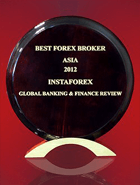 «Meilleur courtier en Asie 2012» selon Global Banking & Finance Review