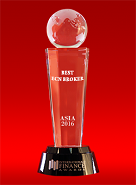 «Meilleur courtier ECN en Asie 2016» selon International Finance Awards